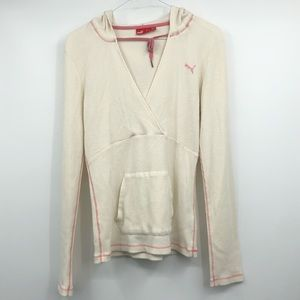 Puma V-neck thermal with hoodie